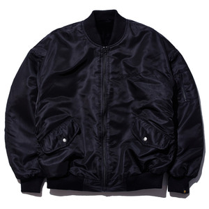 Reversible MA-1 jacket black