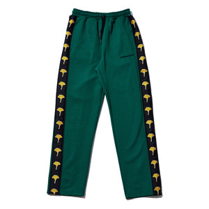 Ginkgo taped pants green