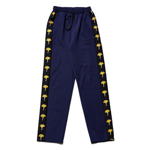Ginkgo taped pants navy