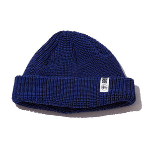 Watchcap short beenie navy