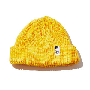 Watchcap short beenie yellow