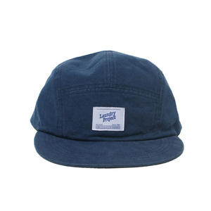 [Brownpeanut x Laundry project]washed 5-panel campcap navy
